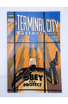 Muestra 1 de TERMINAL CITY GRAFFITI AEREO 1 Y 2. COMPLETA (Dean Motter / Michael Lark) Norma 2000