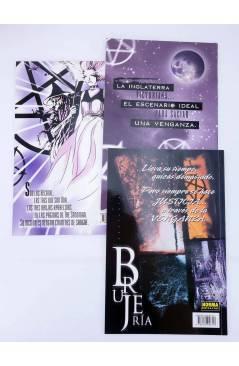 Contracubierta de BRUJERIA 1 2 y 3. COMPLETA (James Robinson / Teddy Kristiansen) Norma 1999