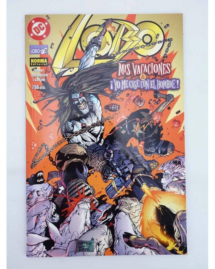 Cubierta de LOBO 20. MIS VACACIONES/ ME CASE CON EL HOMBRE (Grant Jorgensen Y Luzniak) Norma 2000