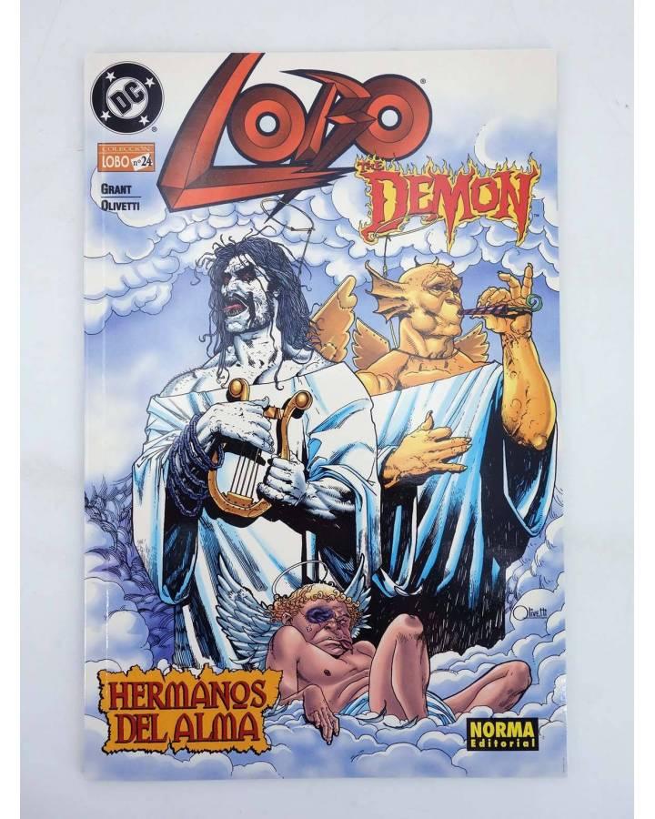 Cubierta de LOBO 24. LOBO / DEMON HERMANOS DEL ALMA (Grant Y Olivetti) Norma 2001