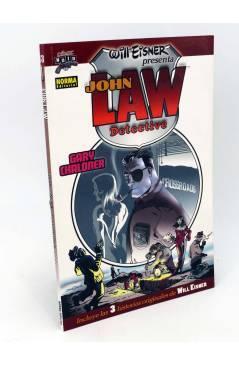 Cubierta de COMIC NOIR 13. JOHN LAW DETECTIVE (Gary Chaloner / Will Eisner) Norma 2006