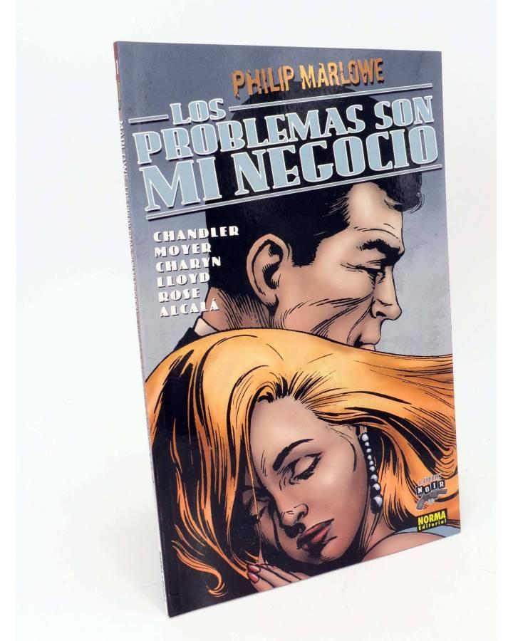 Cubierta de COMIC NOIR 11. PHILIP MARLOWE LOS PROBLEMAS SON MI NEGOCIO (Charyn / Lloyd) Norma 2006