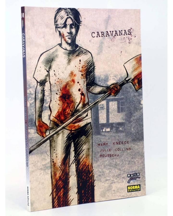 Cubierta de COMIC NOIR 14. CARAVANAS (Mark Kneece / Collins-Rousseau) Norma 2006