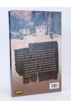 Contracubierta de COMIC NOIR 14. CARAVANAS (Mark Kneece / Collins-Rousseau) Norma 2006