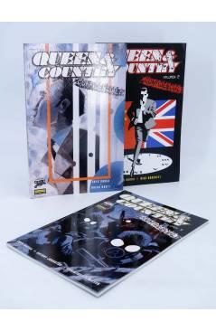 Cubierta de QUEEN & COUNTRY CONFIDENCIAL 1 A 3. COMPLETA (Greg Rucka) Norma 2005