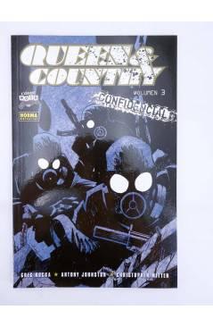 Muestra 1 de QUEEN & COUNTRY CONFIDENCIAL 1 A 3. COMPLETA (Greg Rucka) Norma 2005