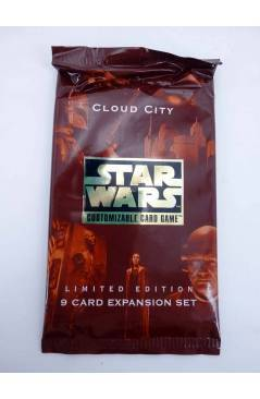 Cubierta de STAR WARS CLOUD CITY CUSTOMIZABLE CARD GAME. 9 CARD EXPANSION SET 1997. TRADING CARDS (No Acreditado) Deciph
