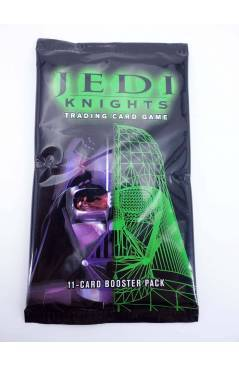 Cubierta de STAR WARS JEDI KNIGHTS TRADING CARD GAME. 11 CARD BOOSTER PACK (No Acreditado) Decipher 2000