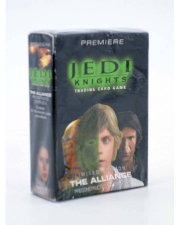 Cubierta de STAR WARS JEDI KNIGHTS THE ALLIANCE. PRECONSTRUCTED STARTER DECK. TRADING CARDS (No Acreditado) Decipher 200