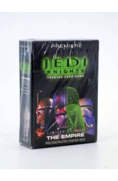 Cubierta de STAR WARS JEDI KNIGHTS THE EMPIRE. PRECONSTRUCTED STARTER DECK. TRADING CARDS (No Acreditado) Decipher 2001