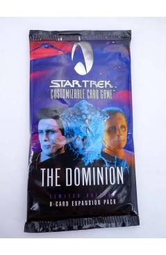 Cubierta de STAR TREK. THE DOMINION 9 CARDS EXPANSION SET. CUSTOMIZABLE CARD GAME (No Acreditado) Decipher 1998