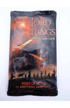 Cubierta de LORD OF THE RINGS MINES OF MORIA TRADING CARD GAME. SOBRE CON 11 CARTAS (Vvaa) Decipher 2002