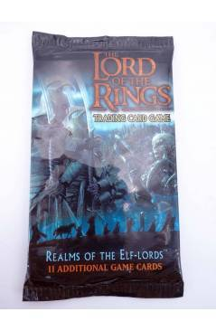 Cubierta de LORD OF THE RINGS REALMS OF THE ELF LORDS TRADING CARD GAME. SOBRE CON 11 CARTAS (Vvaa) Decipher 2002