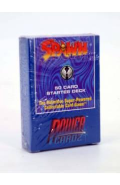 Cubierta de TODD MCFARLANE SPAWN 50 CARD STARTER DECK (Todd Mcfarlane) Power Cardz 1995