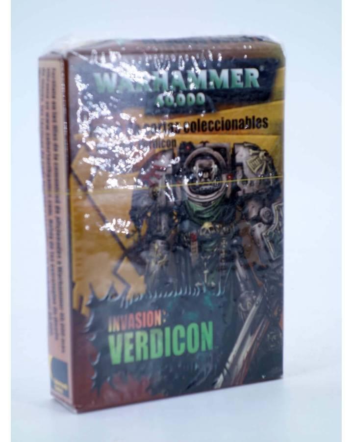 Cubierta de CAJA WARHAMMER 40000 INVASION VERDICON JUEGO DE CARTAS COLECCIONABLES (Vvaa) Sabertooth Games 2002