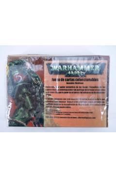 Contracubierta de CAJA WARHAMMER 40000 INVASION VERDICON JUEGO DE CARTAS COLECCIONABLES (Vvaa) Sabertooth Games 2002