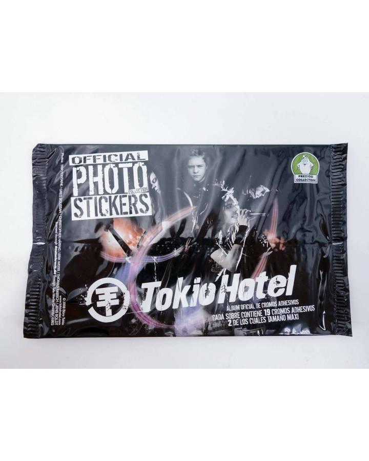 Cubierta de TOKIO HOTEL. OFFICIAL PHOTO STICKERS COLLECTION 19 PEGATINAS/ SOBRE (No Acreditado) Sabertooth Games 2008