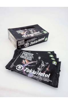 Cubierta de TOKIO HOTEL. OFFICIAL PHOTO STICKERS COLLECTION CAJA CON 24 SOBRES (No Acreditado) Sabertooth Games 2008