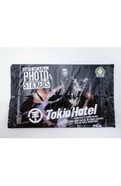 Muestra 4 de TOKIO HOTEL. OFFICIAL PHOTO STICKERS COLLECTION CAJA CON 24 SOBRES (No Acreditado) Sabertooth Games 2008