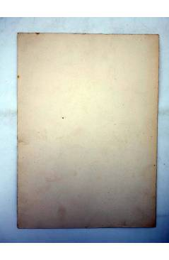 Contracubierta de DIBUJO ORIGINAL 235X17CM FALLAS VALENCIA 1954 72. GLORIA – FELICITAT – TREMOLAR (No Acreditado) Valenc