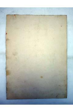 Contracubierta de DIBUJO ORIGINAL 235X17 CM FALLAS VALENCIA 1954 112. MARCHALENES – CAMINO VIEJO BURJASSOT (No Acreditad