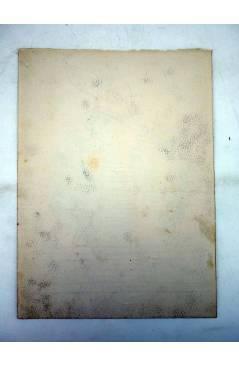 Contracubierta de DIBUJO ORIGINAL 34X22 CM FALLAS VALENCIA 1954 119. PLAZA VIRGEN DE LEPANTO (No Acreditado) Valencia 19