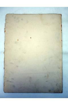 Contracubierta de DIBUJO ORIGINAL 235X17 CM FALLAS VALENCIA 1954 149. CAMINO PALMAR – PERELLONET (No Acreditado) Valenci