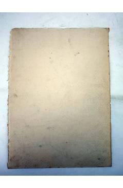 Contracubierta de DIBUJO ORIGINAL 235X17 CM FALLAS VALENCIA 1954 150. AVENIDA MÁRTIRES (No Acreditado) Valencia 1954