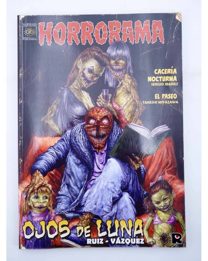 Cubierta de HORRORAMA 7. OJOS DE LUNA (Vvaa) Recerca 2006