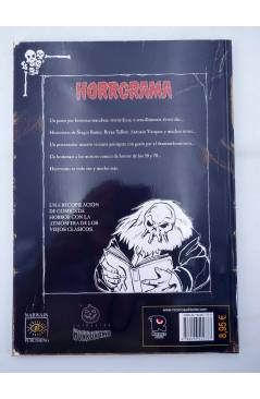 Contracubierta de HORRORAMA 7. OJOS DE LUNA (Vvaa) Recerca 2006