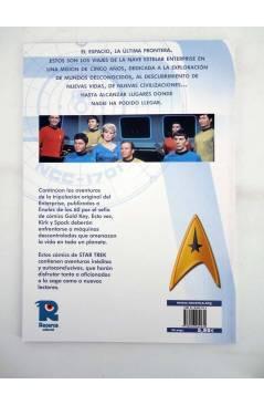 Contracubierta de CI FI 4. STAR TREK CLASSIC 2 (Alberto Giolitti) Recerca 2005
