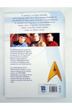 Contracubierta de CI FI 13. STAR TREK CLASSIC 6 (Len Wein / Alberto Giolitti) Recerca 2006