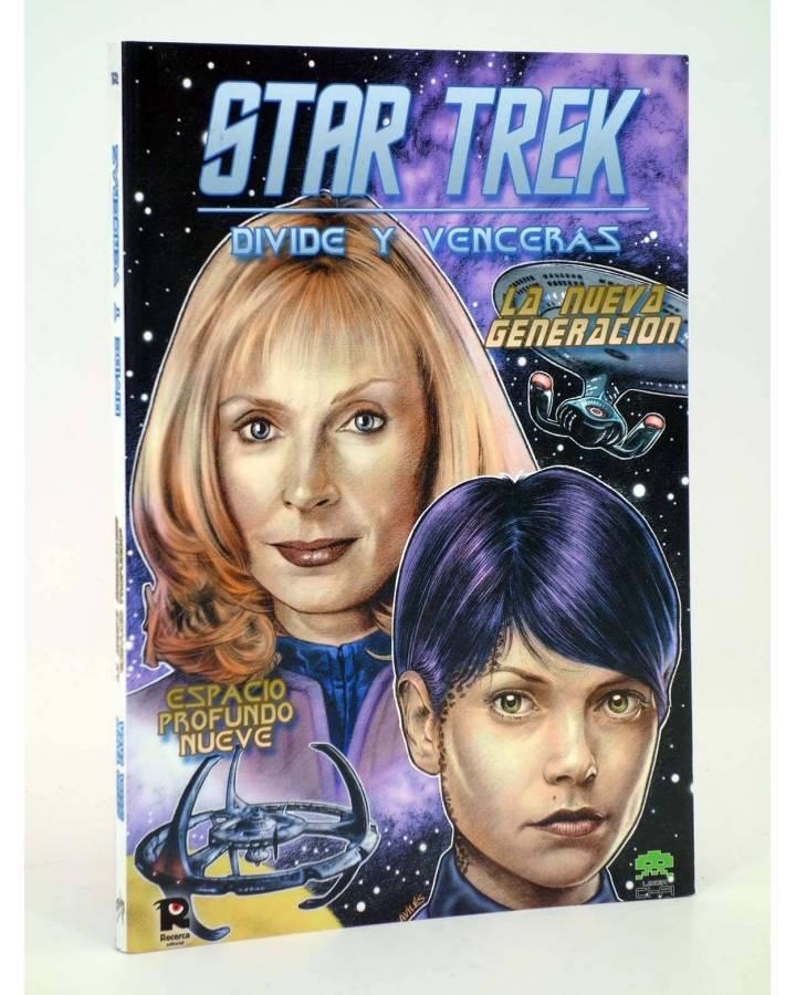 Cubierta de CI FI 11. STAR TREK LA NUEVA GENERACIÓN DIVIDE Y VENCERÁS (Vvaa) Recerca 2006