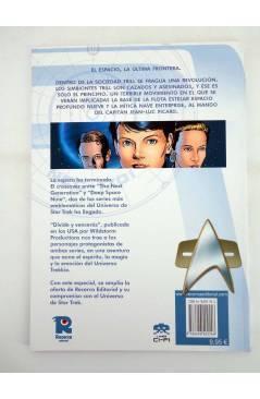 Contracubierta de CI FI 11. STAR TREK LA NUEVA GENERACIÓN DIVIDE Y VENCERÁS (Vvaa) Recerca 2006
