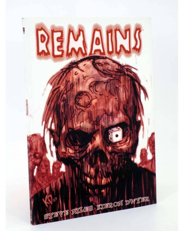 Cubierta de HORRORAMA 2. REMAINS (Steve Niles / Kieron Dwyer) Recerca 2005
