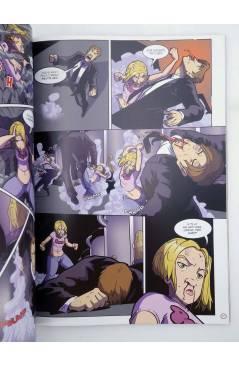 Contracubierta de 100 GIRLS 2. REVELACIÓN FINAL (Adam Gallardo / Todd Demong) Recerca 2006