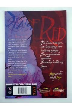 Contracubierta de SEA OF RED NINGUNA TUMBA EXCEPTO EL MAR (K. Dwyer / R. Remender / S. Sam) Recerca 2006