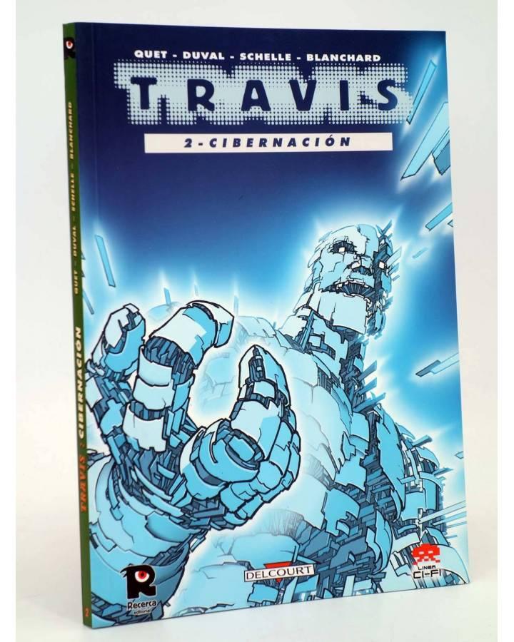 Cubierta de CI FI 9. TRAVIS 2. CIBERNACIÓN (Fred Duval / Christophe Quet) Recerca 2005