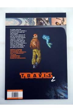 Contracubierta de CI FI 9. TRAVIS 2. CIBERNACIÓN (Fred Duval / Christophe Quet) Recerca 2005