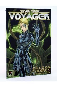 Cubierta de CI FI 8. STAR TREK VOYAGER. FALSOS COLORES (Archer Mo Y Carani) Recerca 2005
