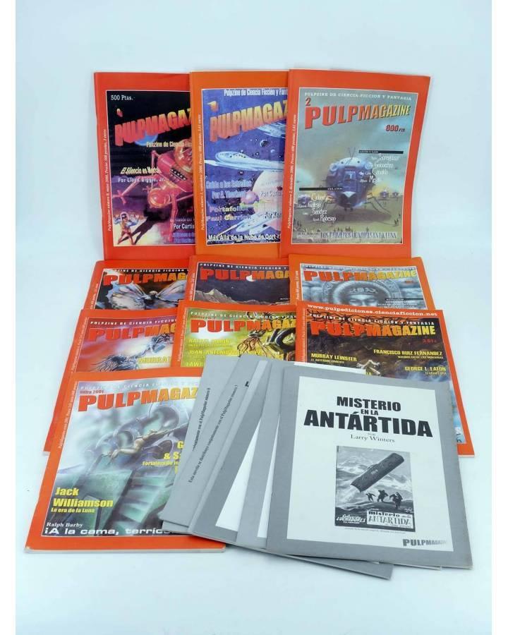 Cubierta de PULP MAGAZINE 0 A 8+ EXTRA. COLECCIÓN COMPLETA 10 NÚMEROS (Vvaa) Pulp Ediciones 2000