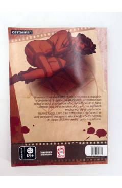 Contracubierta de EL ENEMIGO (Thierry Robberecht / Alberto Pagliaro) Dreamers 2008