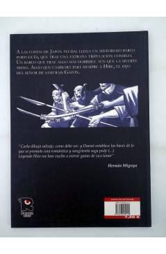 Contracubierta de HIRE. EL TERRIBLE VAMPIRO SAMURAI (Carla Berrocal) Recerca 2004