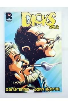 Contracubierta de DICKS 1 Y 2. COMPLETA (Garth Ennis / John Mccrea) Recerca 2004