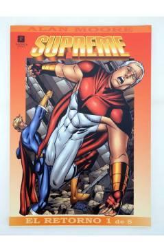 Contracubierta de SUPREME EL RETORNO 1 A 5. COMPLETA (Alan Moore Chris Sprouse Etc) Recerca 2004