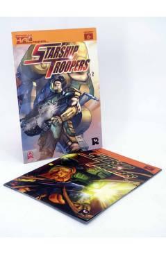 Cubierta de HAL 6 Y 7. . STARSHIP TROOPERS 1 Y 2 COMPLETA (Tony Lee / Rod Reis / Sam Hart) Recerca 2006