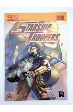 Contracubierta de HAL 6 Y 7. . STARSHIP TROOPERS 1 Y 2 COMPLETA (Tony Lee / Rod Reis / Sam Hart) Recerca 2006