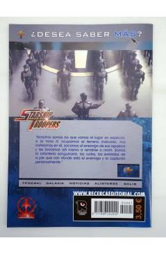 Muestra 1 de HAL 6 Y 7. . STARSHIP TROOPERS 1 Y 2 COMPLETA (Tony Lee / Rod Reis / Sam Hart) Recerca 2006