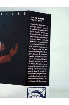 Contracubierta de HISTORIETAS (Ken Niimura) Recerca 2005