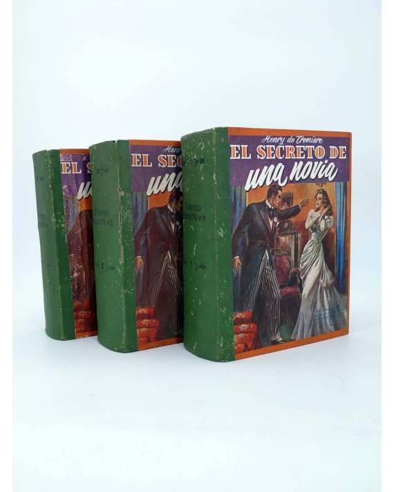 Cubierta de EL SECRETO DE UNA NOVIA. COMPLETA 3 TOMOS. 4480 PÁGS (Henry De Tremière) No acreditada 1930